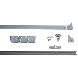 Laufschienen-Set 45 x 8 mm, 1,85 m lang