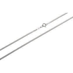 Silberkettenstore Silberkette Panzerkette 925 Silber 1,7mm breit 38-120cm 85cm