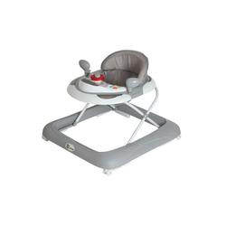 Clamaro Lauflernhilfe, Gehfrei Lauflernhilfe Baby Walker Babywippe Gehhilfe, 6-18 Monate Clamaro grau
