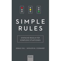 Simple Rules: eBook von Donald Sull/ Kathleen Eisenhardt