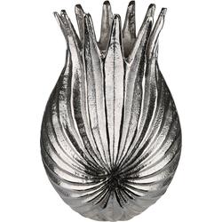 GILDE Dekovase Palmenblatt 18 cm x 31 cm x 12 cm