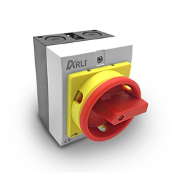 ARLI Schalter ARLI Hauptschalter 25A 4-polig Drehschalter Schalter 1141