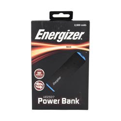 Energizer Powerbank 2500mAh inkl. Kabel in schwarz / blau Powerbank