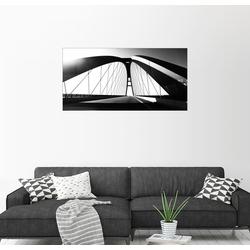 Posterlounge Wandbild, Fehmarnsundbrücke 40 cm x 20 cm