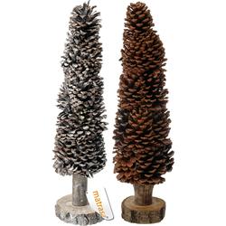Deko Tannenbaum aus Tannenzapfen 48 cm - Weihnachtsbaum Weihnachtsdeko Handgefertigt