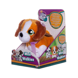 IMC TOYS Plüschfigur IMC Mini Walkiez Beagle braun