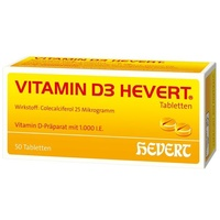 Hevert Vitamin D3 1000 I.E. Tabletten