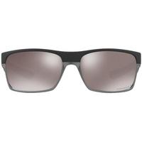 OO9189-38 matte black / prizm grey