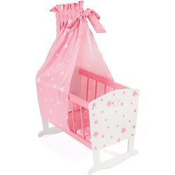 Puppenwiege pink