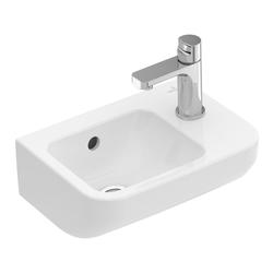 Villeroy & Boch Architectura Handwaschbecken mit HL rechts, mit ÜL 36 x 26 cm
