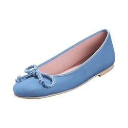 Pretty Ballerinas Lack-Ballerinas Ballerina blau 39