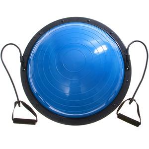 VEVOR Balance Ball 60 cm Balance Trainer, Krafttraining Balance Halbe Yoga Balance Bälle Fitness Übung mit Pumpe Blau Halbkugel Dome Ball Gewichtskapazität 300 kg Balance Trainer,