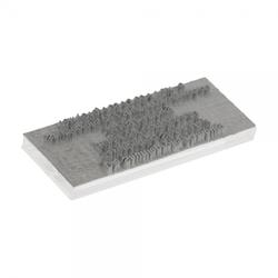 Textplatte für ClassiX Stempel (Ø 11 mm)