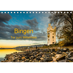 Bingen - Tor zum Mittelrhein (Tischkalender 2021 DIN A5 quer)