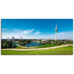 Artland Wandbild München Olympiapark, Europa (1 Stück) 60 cm x 30 cm