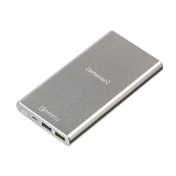 Intenso Powerbank Q10000 mit Quick Charge Funktion silber Powerbank