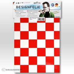 Oracover 87-010-023-B Designfolie Easyplot Fun 3 (L x B) 300mm x 208mm Weiß, Rot