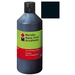 MARABU MARABU 1510 75 073 500ml Linoldruckfarbe Aqua schwarz