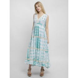 Apart Sommerkleid mit weitem Rockpart mit weitem Rockpart blau 36