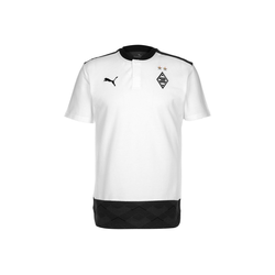 PUMA Poloshirt Borussia Mönchengladbach Casuals weiß S