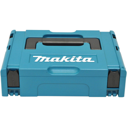MAKITA Werkzeugkoffer Makpac Gr.1, leer, 395 x 105 x 295 mm blau