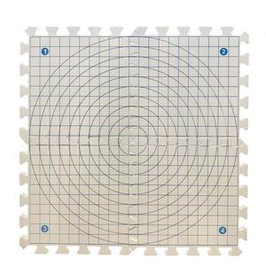 Eseno® 30,5 x 30,5 cm Spannmatten zum Stricken, Handarbeiten oder Häkeln