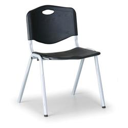 Kunststoff-essstuhl handy, schwarz