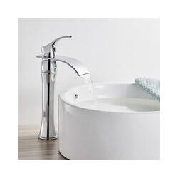 Wasserhahn Bad Wasserfall Wasserhahn Chrom - Auralum