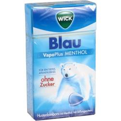 WICK BLAU Menthol Bonbons o.Zucker Clickbox 46 g