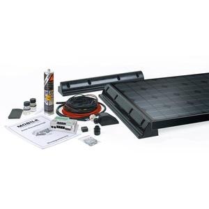 Büttner Elektronik Power-Line MT 260 Solar-Komplettanlage, 260Wp, 1040Wh/Tag