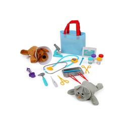 LBLA Lernspielzeug (21-St., Doktorkoffer 21-teilig), arztkoffer Kinder