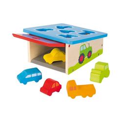 goki Steckspielzeug Sort Box Fahrzeuge