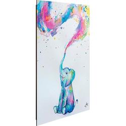 Deco-Panel Aquarell Elefant