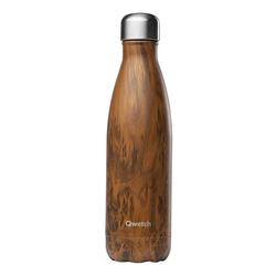 Isotherme Flasche - Wood 500ml