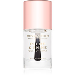 Makeup Revolution Plump & Shine Nagellack mit Geleffekt durchsichtig 10 ml