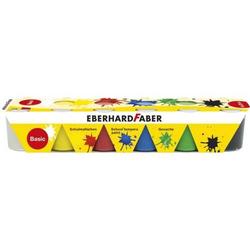 Schulmalfarbe Efacolor Tempera Töpfe 25ml VE=6 Farben basic
