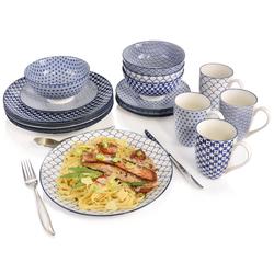 SÄNGER Kombiservice Ozaki, (Kombiservice Ozaki aus Porzellan 16 teilig) weiß Geschirr-Sets Geschirr, Tischaccessoires Haushaltswaren