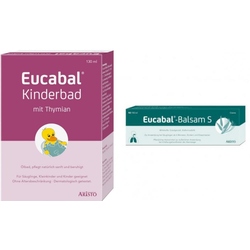 Eucabal Kinderbad + Eucabal Balsam S Set