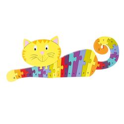 Nici Konturenpuzzle ABC Puzzle Katze, 27 Puzzleteile