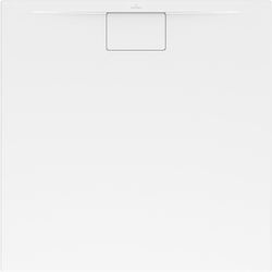 Villeroy & Boch Duschwanne METALRIM ARCHITECTURA Quadrat 800 x 800 x 15 mm weiß