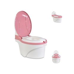 Cangaroo Töpfchen Töpfchen Grow-up, Behälter abnehmbar, anatomischer Sitz, hochwertiger ungiftiger Kunststoff rosa
