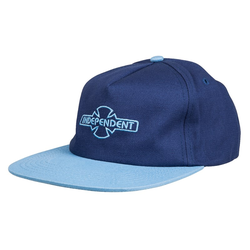 Cap INDEPENDENT - O.G.B.C Emb Cap Navy/Carolina Blue (NAVY-CAROLINA BLUE)