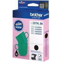 Brother LC227XLBKBP - Hohe Ergiebigkeit - Schwarz - Original - Blisterverpackung - Tintenpatrone - für Brother DCP-J4120DW, MFC-J4420DW, MFC-J4620DW, MFC-J4625DW, MFC-J5720DW