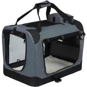 EUGAD Hundebox faltbar Hundetransportbox Auto Transportbox Reisebox Katzenbox 0118HT