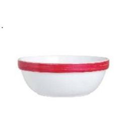 Stapelschale 90 cl Form Brush - Red /Cherrie Arcoroc