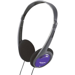 Panasonic RP-HT010 On Ear Kopfhörer On Ear Leichtbügel Schwarz, Blau