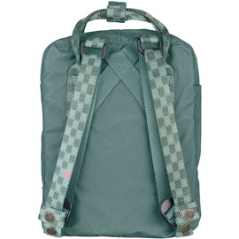 Fjällräven Kanken Mini frost green/chess pattern