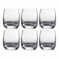Eisch Schnapsglas 6er Set Tumblers 70 ml, Kristallglas beige