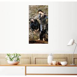 Posterlounge Wandbild, Die Verzauberung Merlins 40 cm x 80 cm