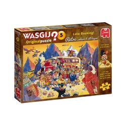 Jumbo Spiele Puzzle 25007 Wasgij Retro Orignal 5 Billigangebot gebucht, 1000 Puzzleteile bunt